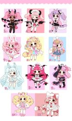 [ Cutie Adopts ] FLAT RATE [ CLOSED] by Hinausa