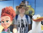 Movie Storks Cardboard Selfie (with a cowboy hat). by JasonCDelaRosa2019