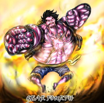 One Piece Chapter 784: Gear 4 by XD0013812