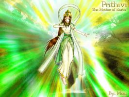 Prithivi The Mother of Earth by moai666
