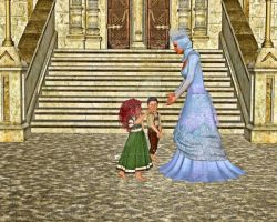 Queen Tending to the Children, by SndCastie (5th) by FantasiesRealmMarket