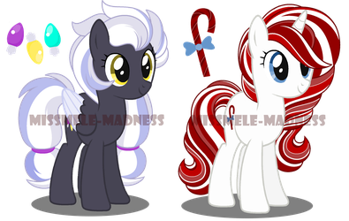 Christmas Pony Adopts (CLOSED) by MissMele-Madness