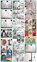 originals to sell JAPAN EXPO 2016 by mariposa-nocturna