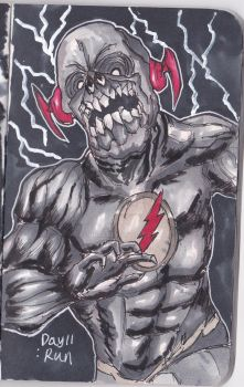 Run inktober2017 day11 Black Flash by ngxe