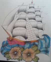 Pirate Ship by miss-jay13