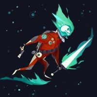Ghost in Space by victoria-ying