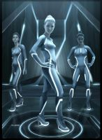 TRON Sirens by EvaKedves