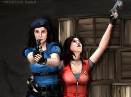 Myka Valentine and Helena Redfield. by twisted-illusion-666