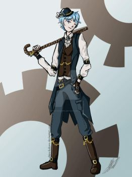 Asher Steampunk by Shiro-kokoro