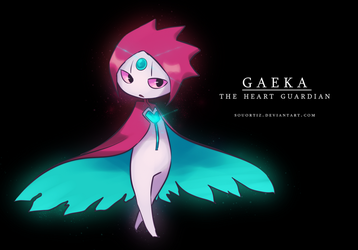 Gaeka | The heart guardian by SouOrtiz