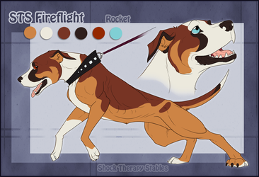 STS Dog- Rocket by ShockTherapyStables