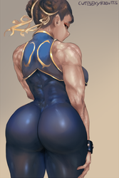 Alpha Chun-li by cutesexyrobutts