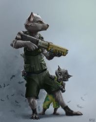 Regaari and Cub by SPipes