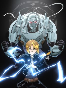 The Elric Brothers. by ultimatejulio