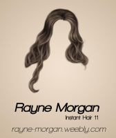 RM - Instant Hair 11 by RayneMorgan