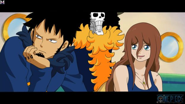 [Re-Edit] One Piece OC - Law, Brook and Jully by jullyonepiece