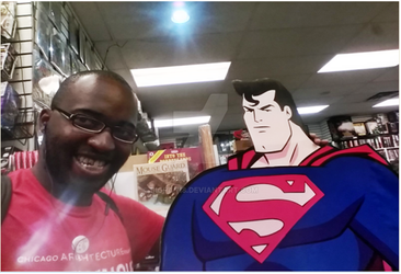 Abou and Superman by bigfan18