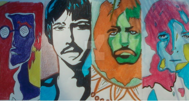 The beatles by tusnade