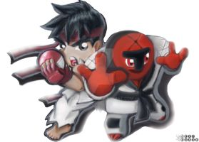 Pokemon D3 Throh and Ryu