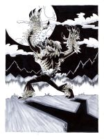 Wolfman2 Grey toned by drawhard