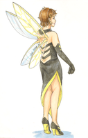 Red Carpet Avengers - Wasp by MysticSybil