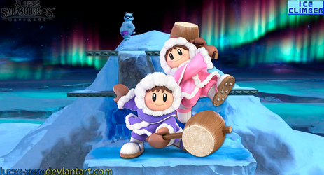 Ice Climbers Super Smash Bros. Ultimate Wallpaper by Lucas-Zero