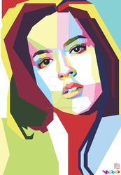 Raisa in WPAP by sangpendosa
