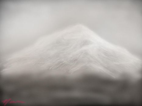 Mountain in the Clouds by elemental-angel1565