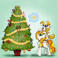 Xmas Commission: The Tree by Pimander1446