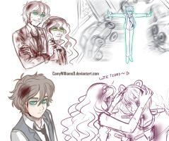 - Murderous Siblings - Sketches about my AU by CamyWilliams9