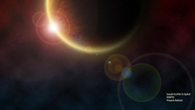 SoLaR EcLiPsE In SpAcE by ignitis
