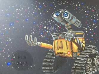 Wall-E by BlossomBrooks
