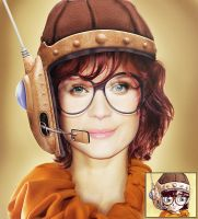Lucca - Chrono trigger by foxalex