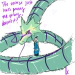 Sokka and The Sea Serpent by Aerotyl
