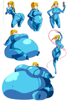 Sketch Book 2 - Samus Expansion by Axel-Rosered