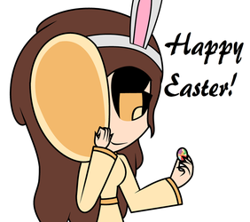 Happy Easter! by PanKakeQueen