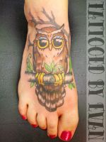 Mr. Owl by emcdclxvi