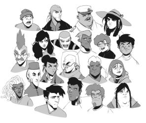 Faces 5 by BrotherBaston