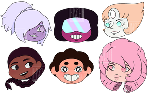 Steven Universe - Chibis! by nottmythical