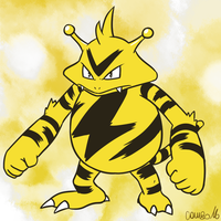 125 - Electabuzz by CombotheBeehen