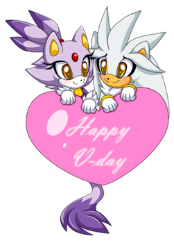Valentine Blaze and Silver by Extra-Fenix