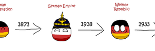 German evolution countryball by Arminius1871