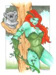 Poison Ivy and Koala by DKHindelang