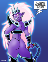 Queen Smakra Says Hi by curtsibling