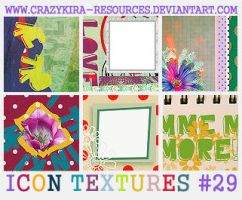 Icon Textures .29 by crazykira-resources