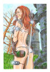 Red Sonja (3) by OLIVERLEE12ARTS
