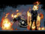 Ghost Rider colors