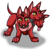 Cerberus Pup by Magelet