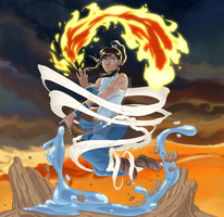 Avatar Korra by Cola82