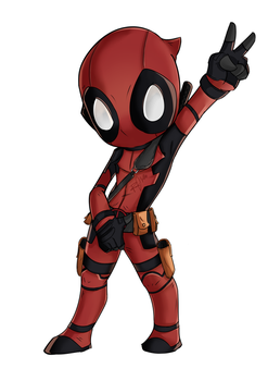 Deadpool Chibi by wooserr